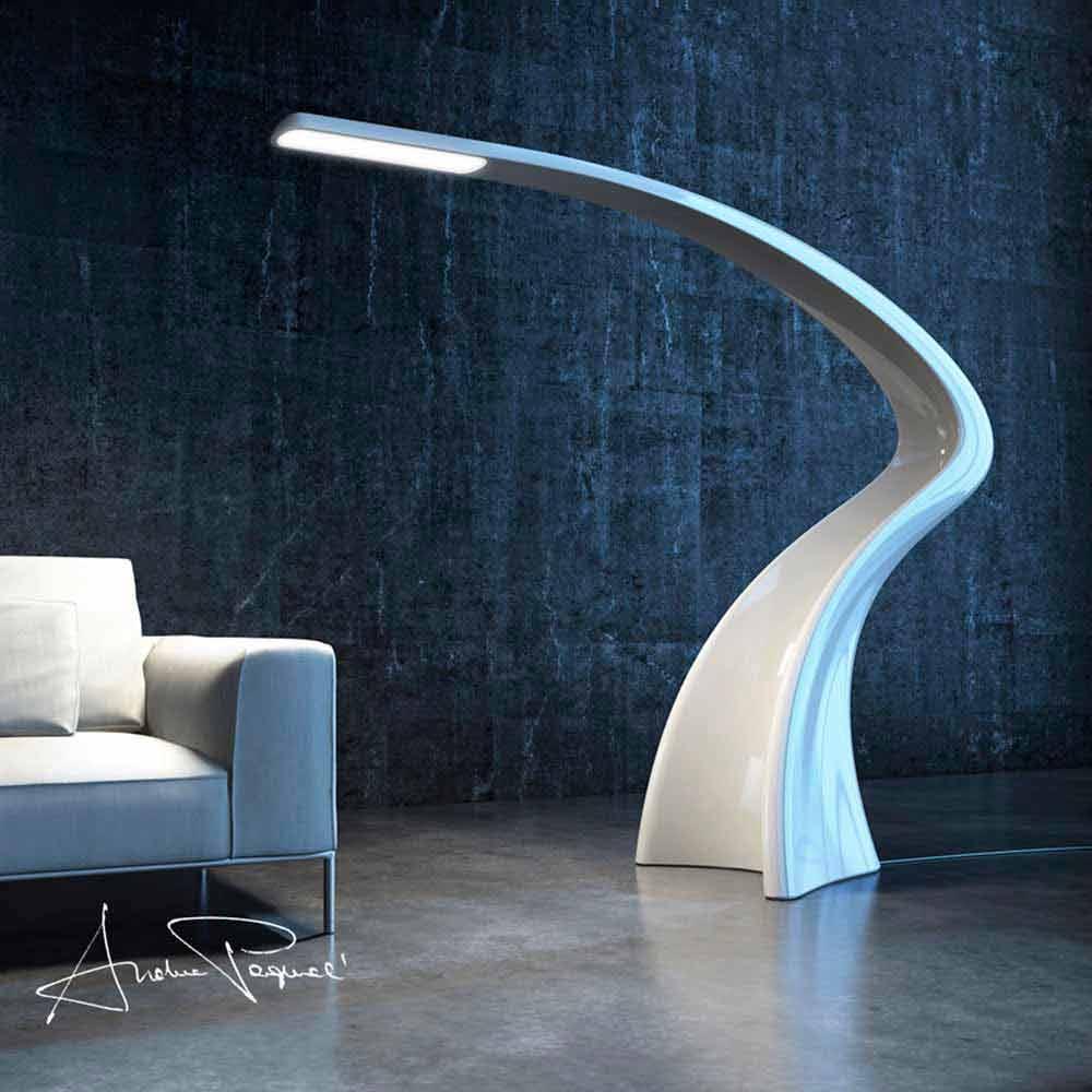 staande lamp modern design lumia made in italy door zad itali op. Black Bedroom Furniture Sets. Home Design Ideas