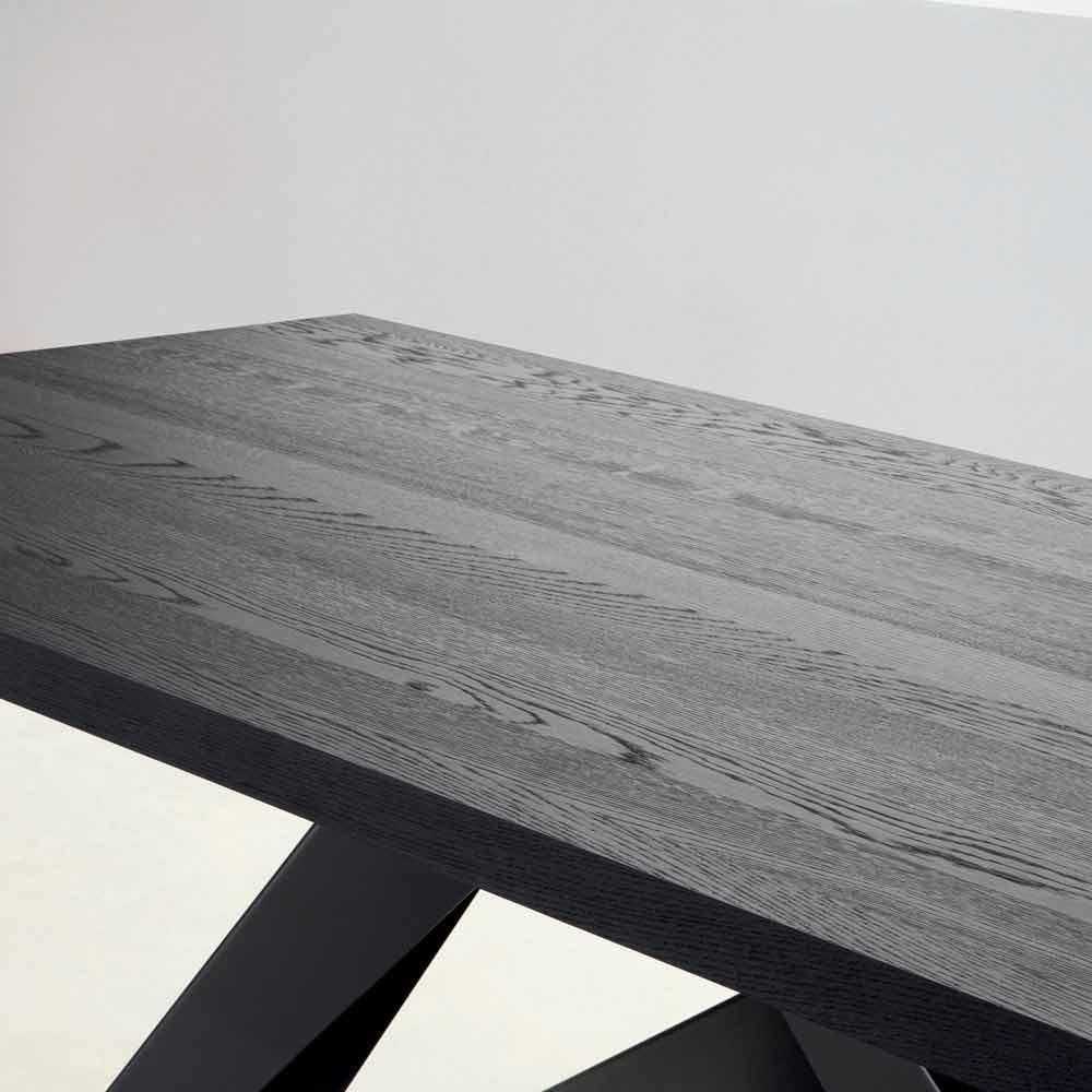 Tuintafel Grijs Hout.Bonaldo Big Table Massief Antraciet Grijze Houten Tafel Gemaakt In Italie