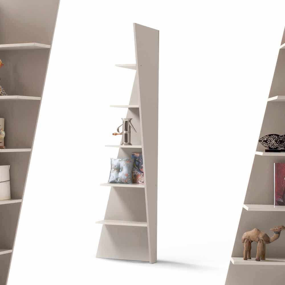 my home esquina design hoek boekenkast mdf gelakt h220cm gemaakt in itali