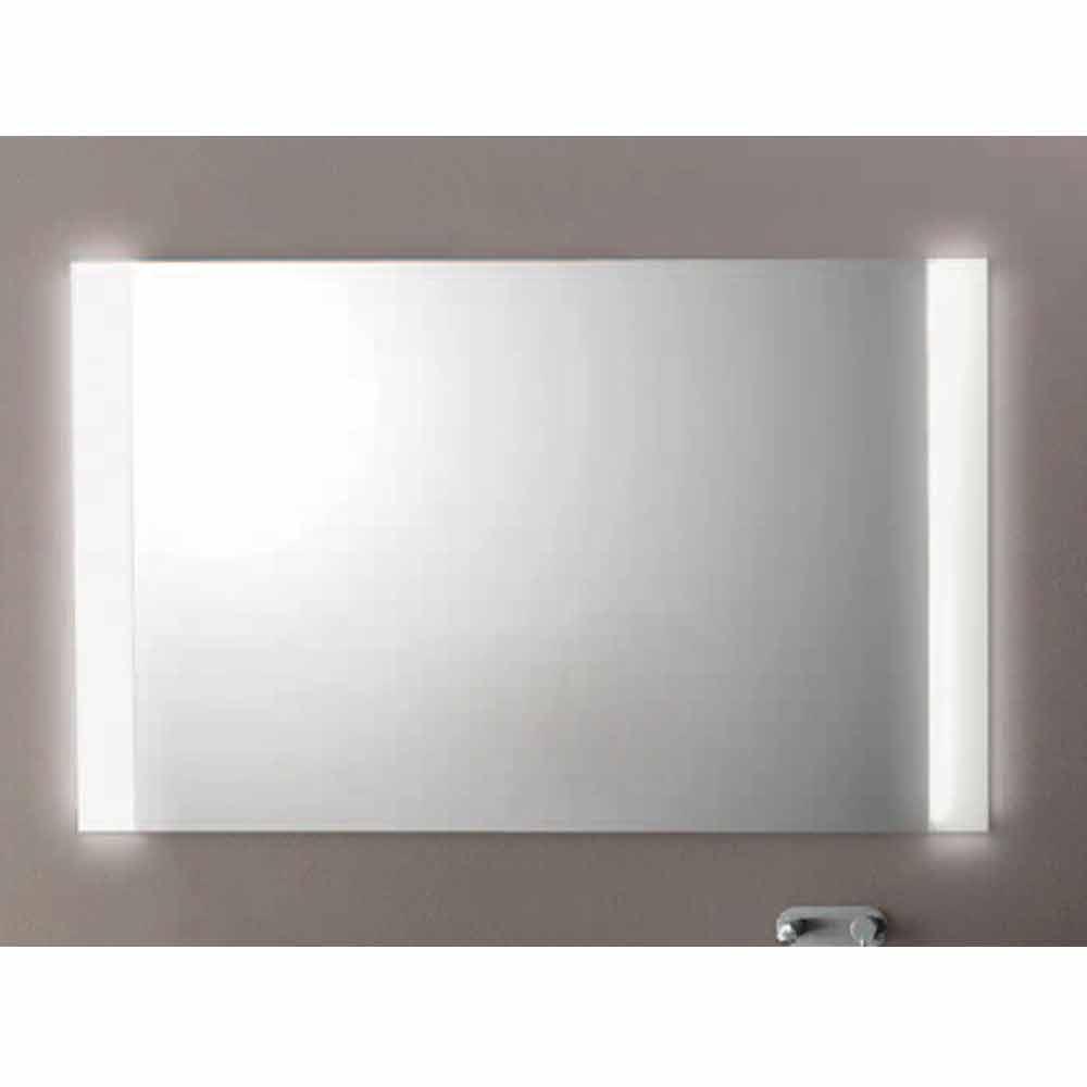 Modern Badkamer spiegel met LED-verlichting, L1200xh.900 mm, Agata