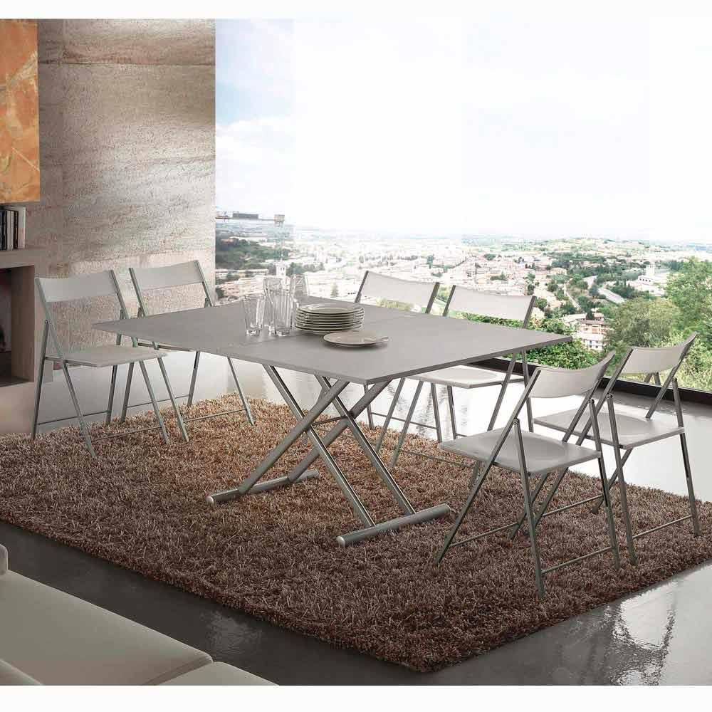 Tafel of salontafel uitbreidbaar ontwerp veredeld nuoro for Tafel ontwerp