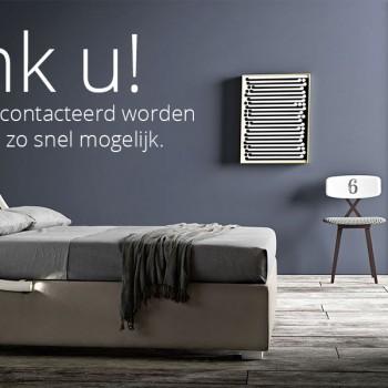 Vraag uw bed op Meting - 100% Made in Italy