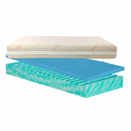 Double matras mijt verwijderbare Bio Nature, made in Italy