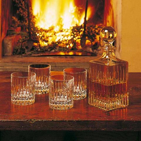12 lage whiskyglazen of tumblerwater in ecologisch kristal - Voglia