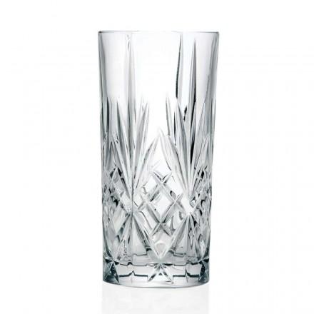 12 glazen, hoge beker, longdrinkglas voor cocktail in Eco Crystal - Cantabile