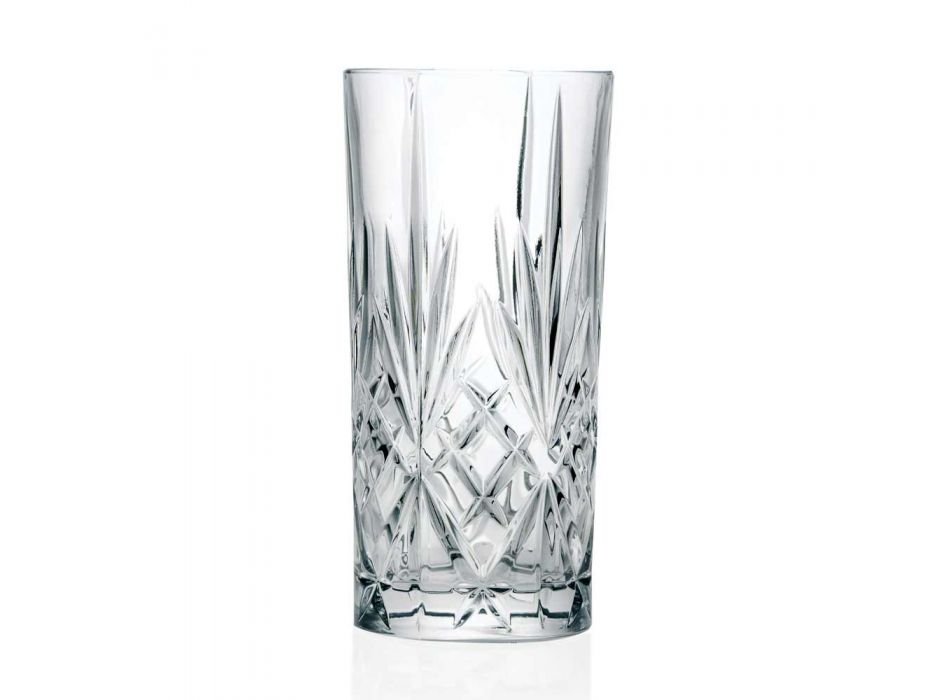 12 Tumbler Alto Longdrinkglazen voor Cocktail in Eco Crystal - Cantabile