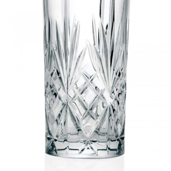 12 Tumbler Alto Longdrinkglazen voor Cocktail in Eco Crystal - Cantabile