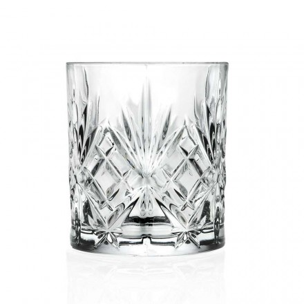 12 Vintage Design Tumbler-glazen van Eco Superior Sonorous Glass - Cantabile