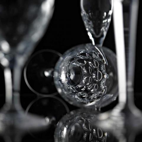 12 Bierglazen in Ecologisch Kristal Versierd Luxe Design - Titanioball