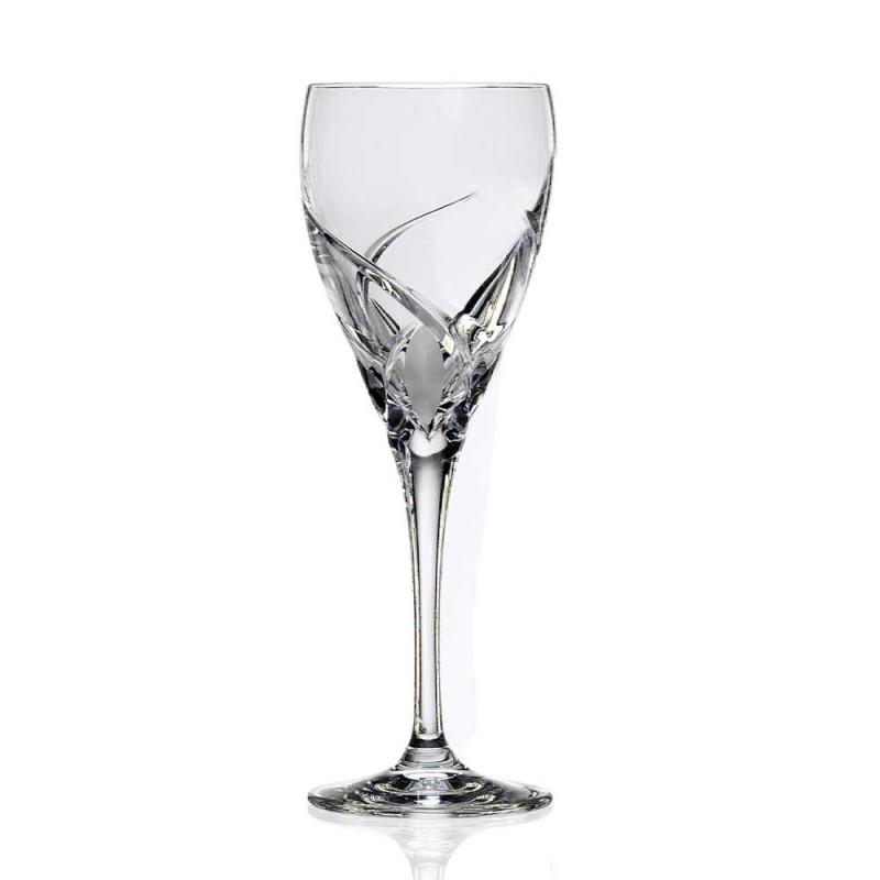 12 luxe design wijnproefglazen in Eco Crystal - Montecristo