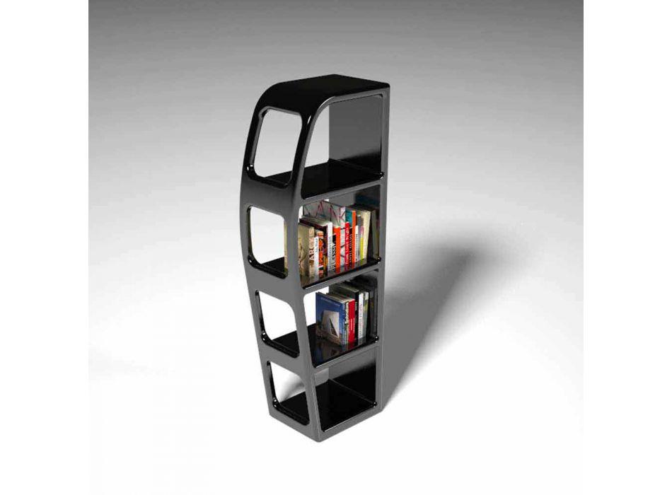 B-kant modern design boekenkast gemaakt in Italië