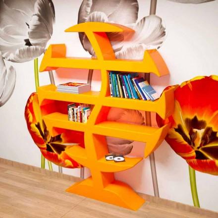 Stevenson moderne boekenkast handgemaakt in Italië
