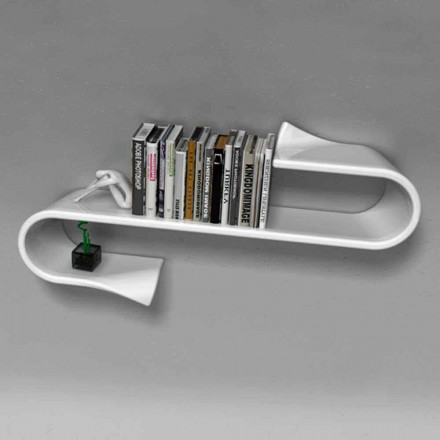 Moderne designplank Waveshelf Viadurini Design Made in Italy