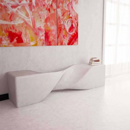 Moderne designbank Bobby gemaakt in Italië