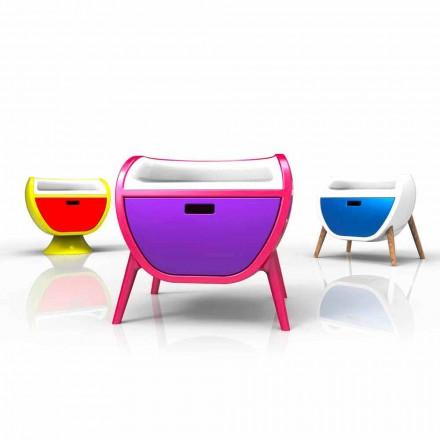 Modern nachtkastje Design Gauche Gemaakt in Italië