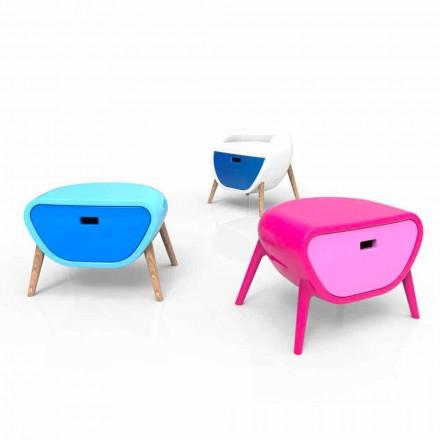 Modern nachtkastje Design Little Gauche Gemaakt in Italië