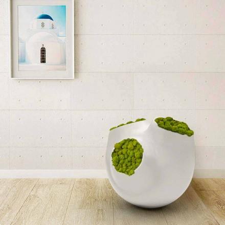 Decoratieve maan Design vaas gemaakt in Italië
