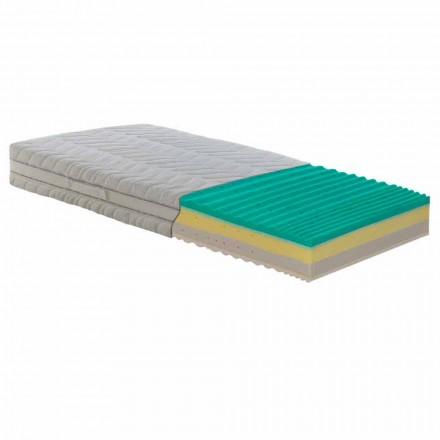 dubbele matras met pocketveren en geheugen Bio Up Memory