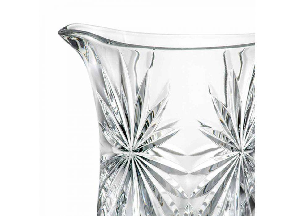 2 Design Waterkannen met Ultraclear Superieur Geluidsglas Decoratie - Daniele