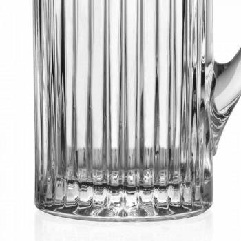2 kannen met water en drankjes in luxe design met ecologische kristallen versiering - Senzatempo