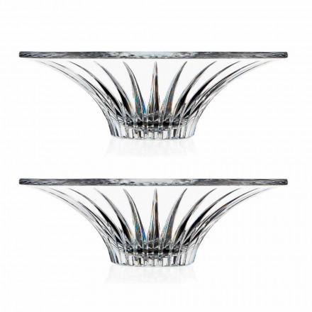 2 Ultraclear Superieur Geluidsglas Middelpunt Luxe en design - Senzatempo