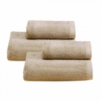 2 paar badhanddoeken Gekleurd servies in katoen Spguna - Vuitton