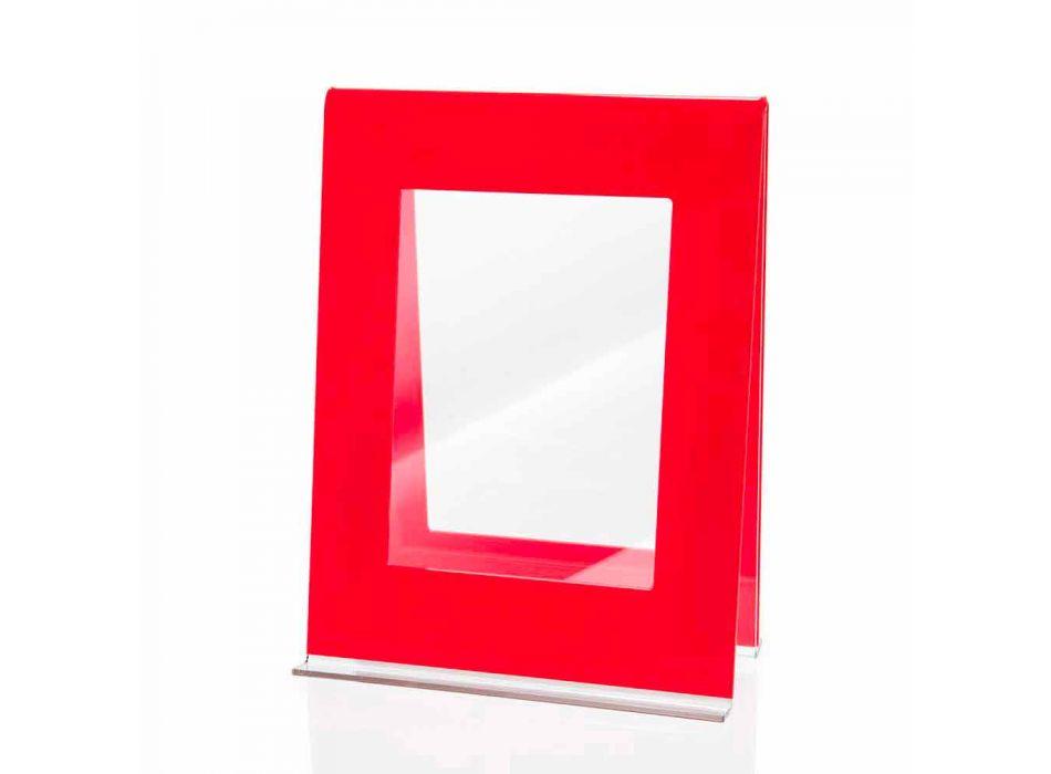 2 Fotolijst met meerdere tafels in Italiaans design van gekleurd plexiglas - Tarino