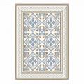 6 elegante Amerikaanse tafelplacemats in pvc en polyester - Leno