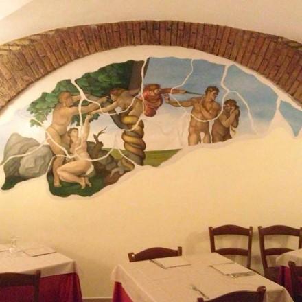 Op maat gemaakte fresco's en schilderijen