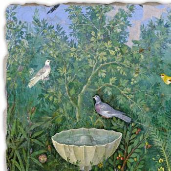 "Roman Fresco ""Tuin met Fontein Erme en"" speciale"