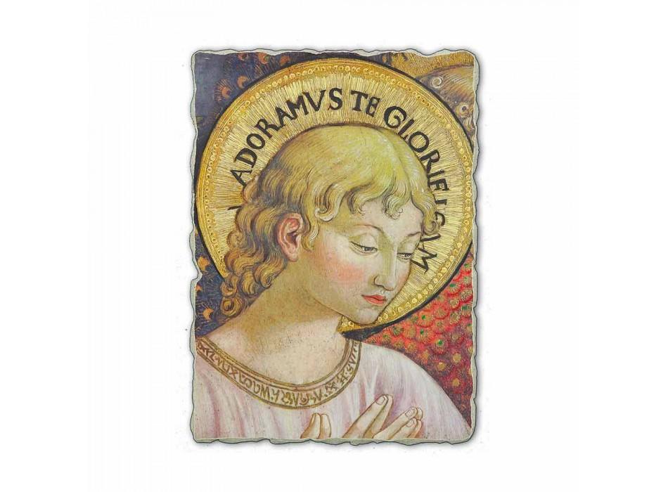 "Fresco Benozzo Gozzoli ""Koren van Engelen in Adoration"""