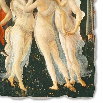 "Fresco Botticelli's ""Allegorie van de Lente"" - detail"