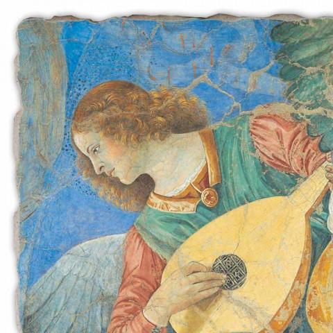 "Fresco handgemaakte Melozzo ""Angelo Musicante"""