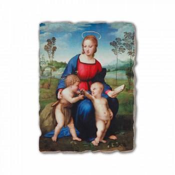 """Fresco handgemaakte Raffaello Sanzio """"Madonna van de Distelvink"""""""
