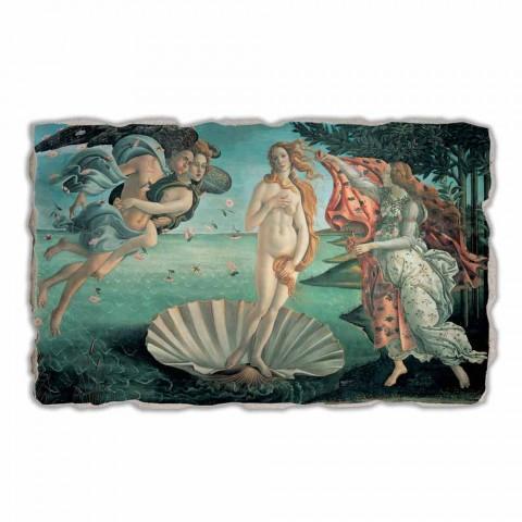 "Fresco gedaan in Italië Botticelli's ""De geboorte van Venus"""