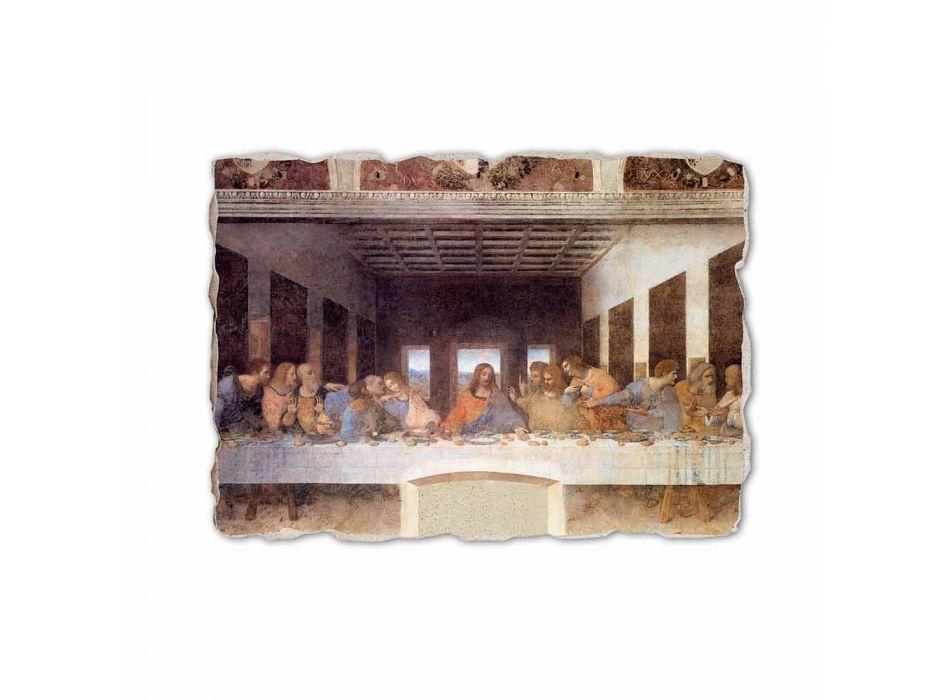 "Fresco gedaan in Italië Leonardo da Vinci's ""Laatste Avondmaal"""