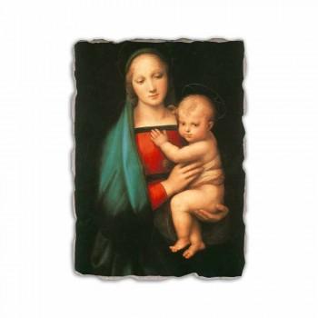 """Fresco Italian-en-klare Raffaello Sanzio """"Madonna del Granduca"""""""