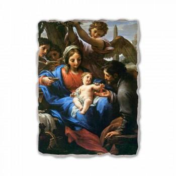 """Fresco Francesco Mancini """"rust tijdens de vlucht naar Egypte"""""""