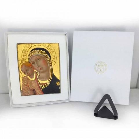 """Fresco Friar Ilario van Viterbo """"Aankondiging"""" bijzonder"""
