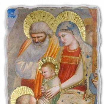 """Giotto fresco """"Aanbidding der Wijzen"""" handgemaakt in Italië"""