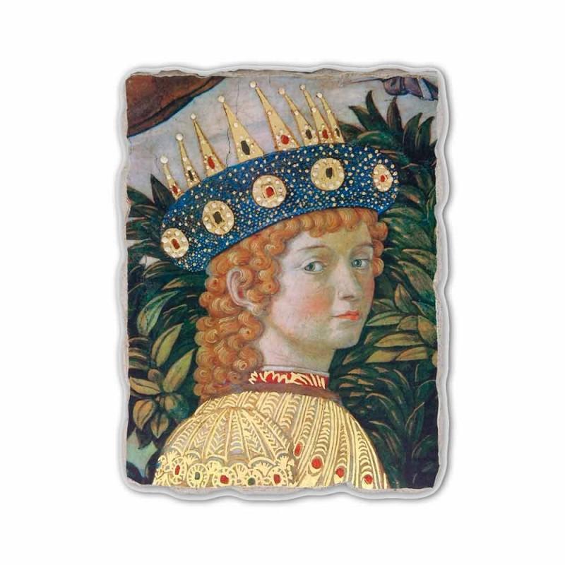 """Gozzoli fresco """"De optocht van de Koningen met Koning Belshazzar"""""""
