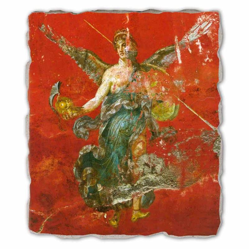 """grootste Romeinse fresco """"Cyclus van de Muzen"""" made in Italy"""