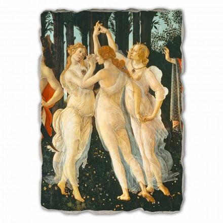 """grote Botticelli Fresco """"Allegorie van de Lente"""" deel."""