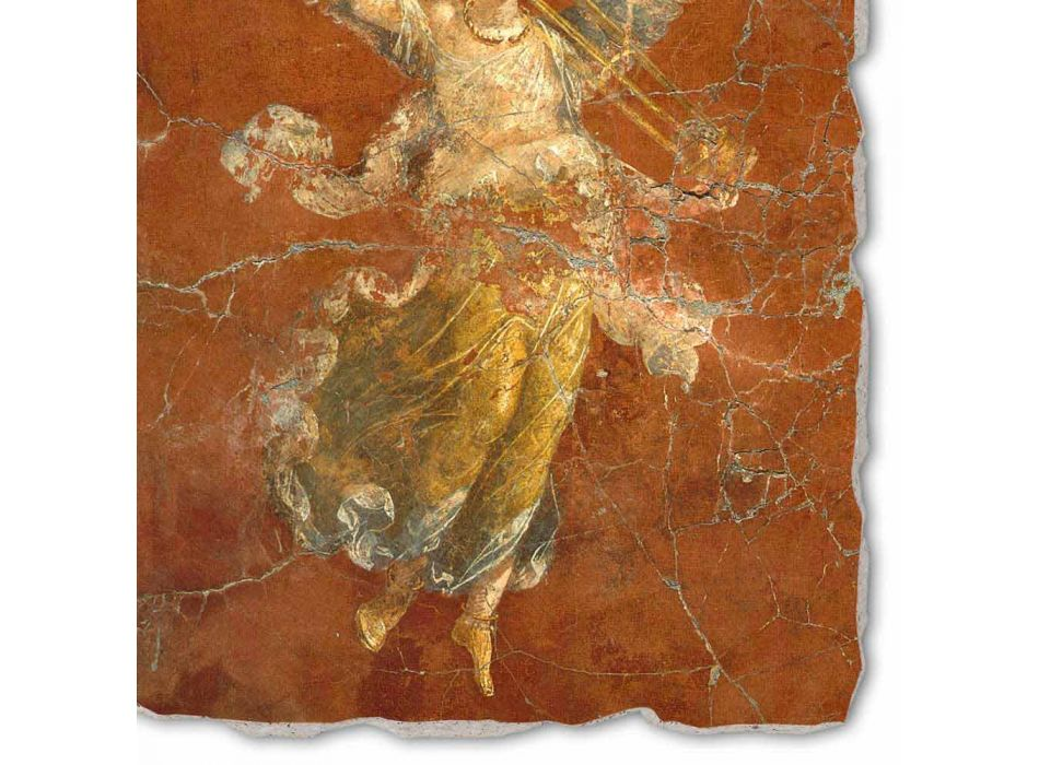 """Grote Fresco handgemaakte Roman """"Cyclus van de Muzen"""""""