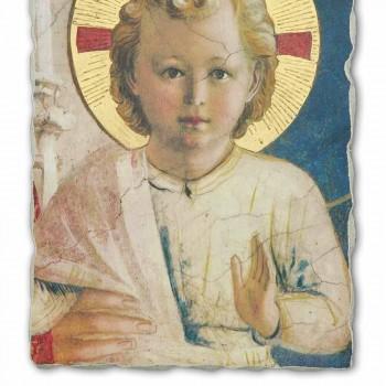 "Grote Fresco handgemaakte Beato Angelico ""Madonna Shadows"""