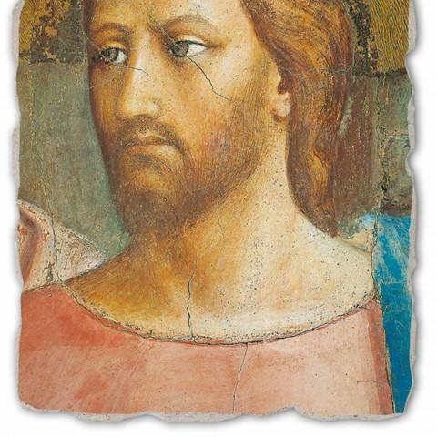 "Fresco grote handgemaakte Italiaanse Masaccio ""The Tribute"""