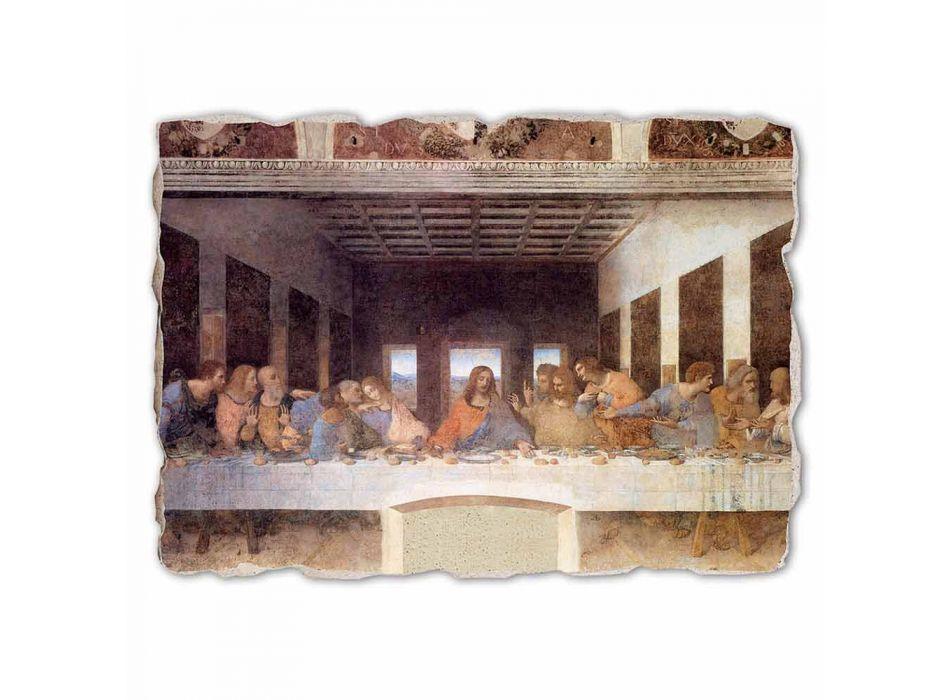 """Grote Fresco handgemaakte Leonardo da Vinci's """"Laatste Avondmaal"""""""