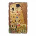 "Grote Fresco gedaan in Italië Gustav Klimt ""De Kus"""