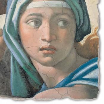 "Grote Fresco gedaan in Italië Michelangelo ""Orakel van Delphi"""