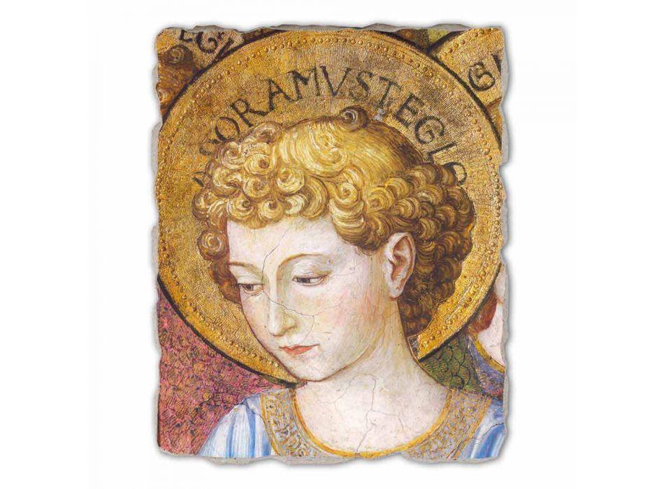 "Great Fresco Gozzoli ""Koren van Engelen in Adoration"" - ca 1454"